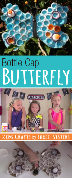 butterfly-kids-craft-bottle-cap-craft