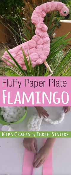 flamingo-paper-plate-craft