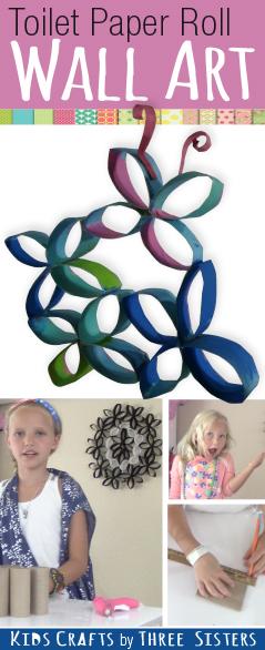 toilet-paper-roll-wall-art-butterfly-flowers