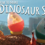 kids-crafts-three-sisters-dinosaur-egg-soap