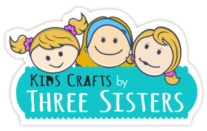 Kids Crafts by Three Sisters  | Free Craft Tutorials