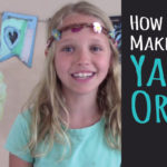 Kids Crafts – How to Make Yarn Orbs – DIY Room & Party Decor