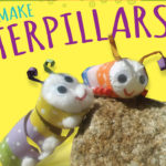 Toilet Paper Roll Craft – Caterpillars