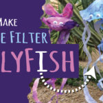 JellyFish Craft Made From Coffee Filters