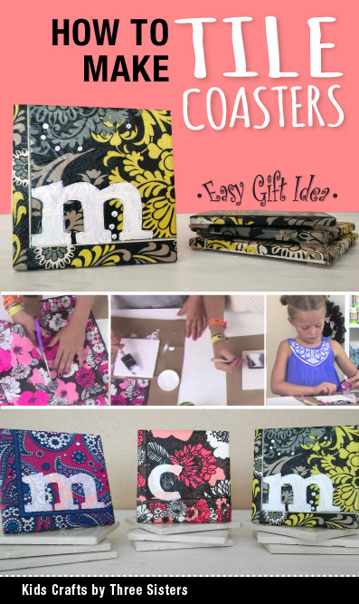 how-make-ceramic-tile-coaster-kids-crafts-three-sisters