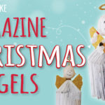 How to Make Christmas Magazine Angels
