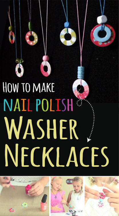 nail-polish-washer-neckalces-kids-crafts-three-sisters