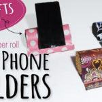 Easy DIY Phone Holder with Toilet Paper Rolls