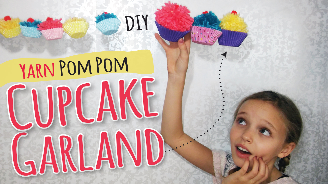 how to make yarn pom poms by hand