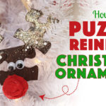 How to Make a Reindeer Puzzle Ornament