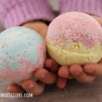 how to make DIY bath bomb with kids