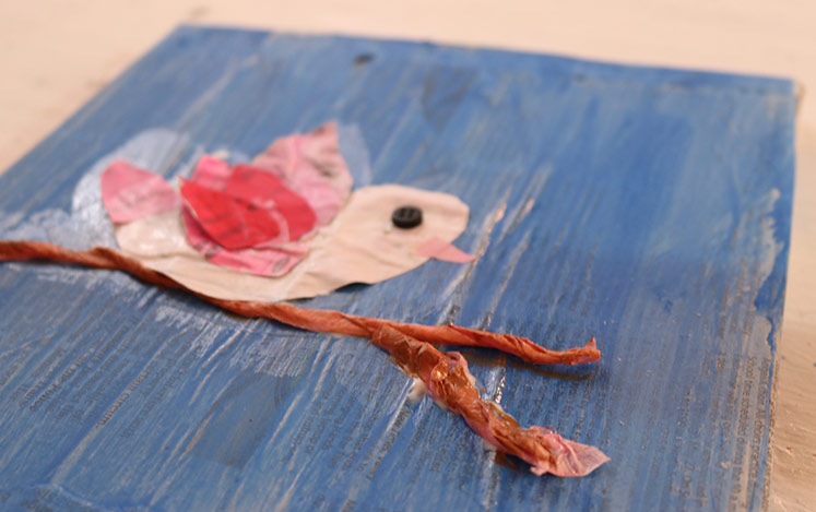 bird-newspaper-art-for-kids