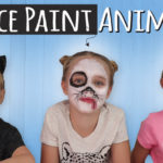 How to Face Paint a Bunny, Dog & Cat using Arteza Face Paint for Kids