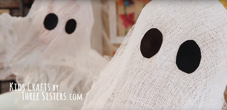 cheesecloth-ghosts-kids-crafts-three-sisters
