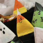 How to Make DIY Halloween Treat Boxes from Paper Rolls