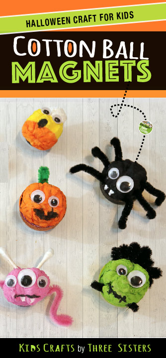 halloween-craft-kids-make-cotton-ball-crafts-three-sisters