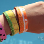 Popsicle Stick Bracelets: an easy and affordable, DIY jewelry craft