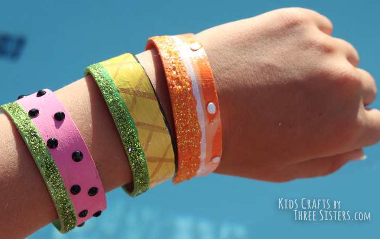 Popsicle Stick Bracelets Easy And Affordable Diy Jewelry Craftkids
