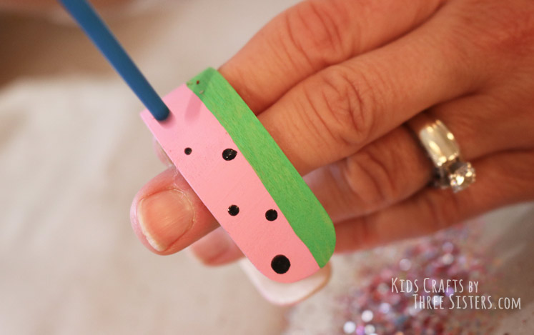 watermelon-craft-stick-bracelet-add-seeds