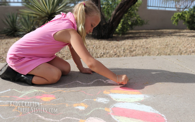 homemade-sidewalk-chalk-kids-crafts-three-sisters-art