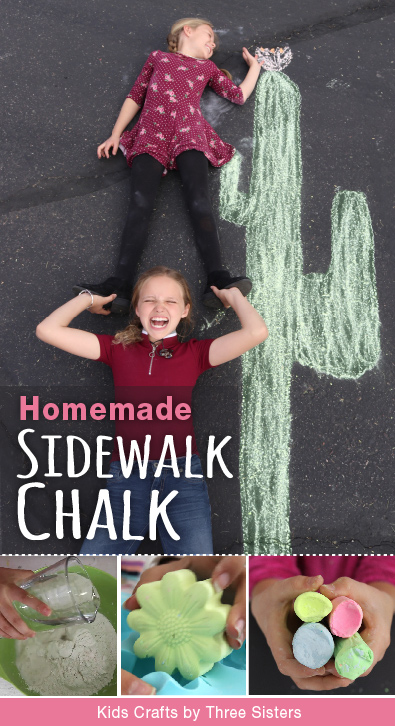 make-homemade-sidewalk-chalk-kids-crafts-three-sisters