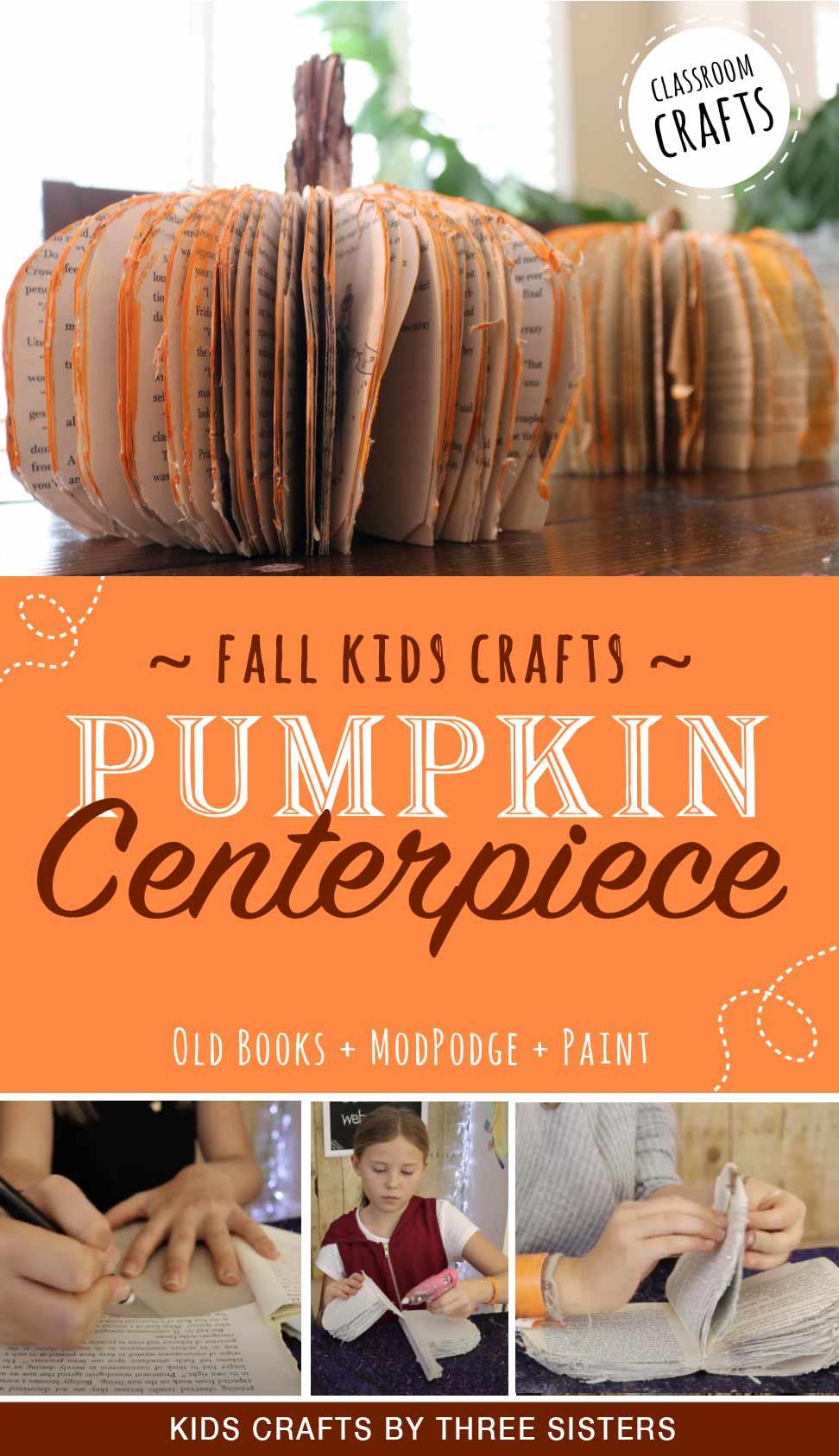 fall-pumpkin-craft-pumpkin-centerpiece-made-books