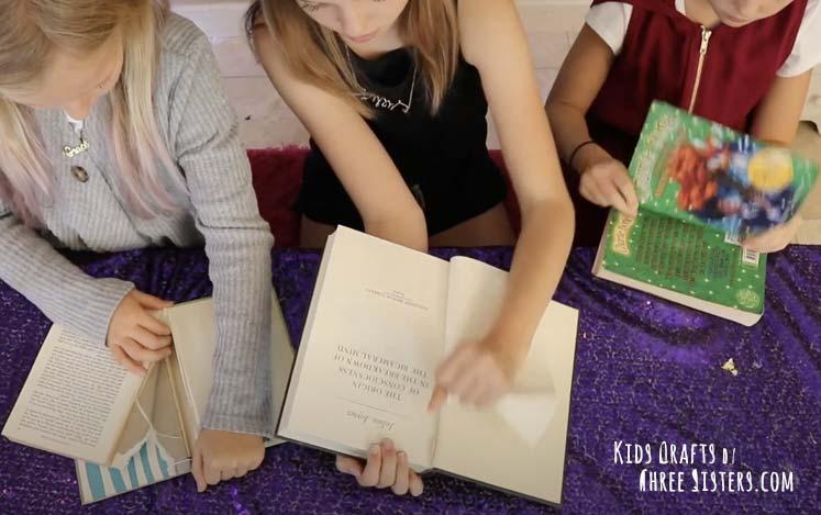 fall-pumpkin-craft-recycle-books